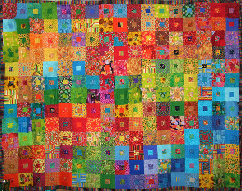 Colourful Children's quilt