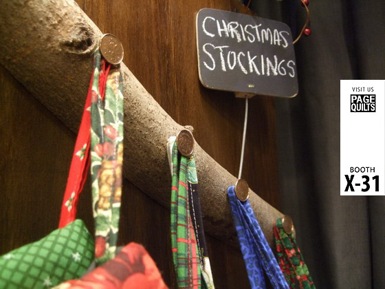 Christmas stockings - hang from hook or door knob
