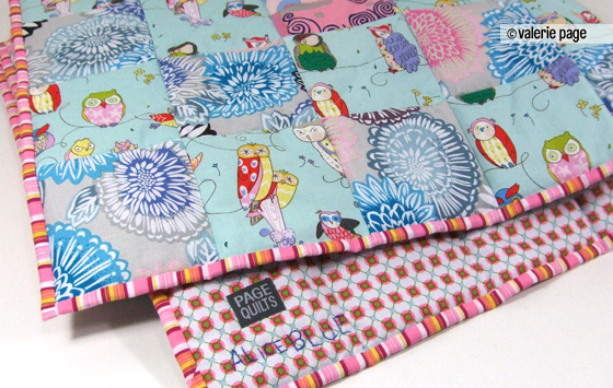 Alice Blue's baby quilt - Brooklyn New York