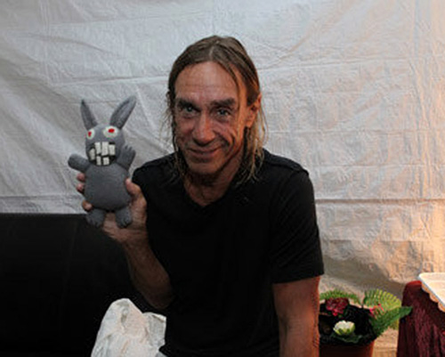 Iggy Pop with NXNE Rabbit at YDS